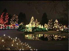 Christmas Lights 2009, 1,400,000 Dancing Lights, Vancouver Canada
