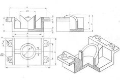 Mechanical Engineering Design, Floor Plans, 3d, Drawing Techniques, Drawing Drawing, Floor Plan Drawing, House Floor Plans
