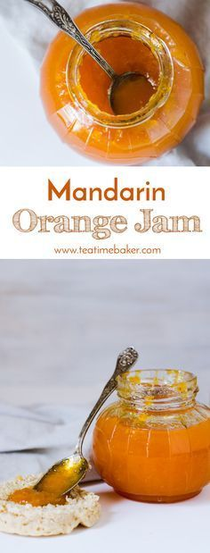 Chase the winter blues with a fresh batch of homemade Mandarin Orange Jam. This quick and easy to make jam recipe uses just five ingredients! No pectin or canning required. Orange Jam Recipes, Recipes Using Mandarin Oranges, Mandarine Recipes, Jelly Recipes, Easy Jam Recipes, Drink Recipes, Homemade Jelly, Jam And Jelly, Vegetable Drinks