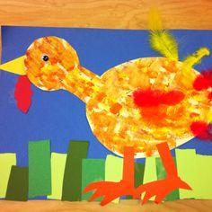Kindergarten Art- turkey (art teacher: v. giannetto)