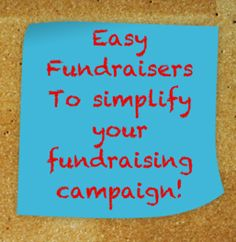 Here are some Easy Fundraisers that will simplify your fundraising campaign and get it off the ground fast! Boost your fundraising now. Fundraising Games, Nonprofit Fundraising, Fundraiser Baskets, Raffle Baskets, Political Campaign, Education Humor, Raise Funds, How To Raise Money, Charity