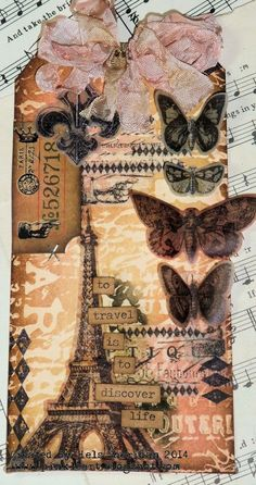 Ink on My Fingers: Tim Holtz Papers