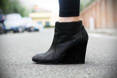 #fashion #shoes Irene's Closet - Fashion blogger outfit e streetstyle: Una borsa leopardata