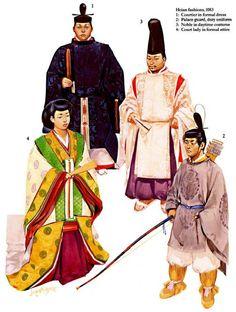 Japan - Heian Court 1083 AD