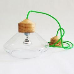 Transparent REFLEX lamp_green