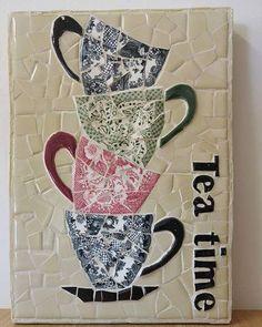 #tea #teatime #mosaic #naomimosaic #נעמימוזאיק #מוזאיקה #אומנות #פסיפס #art #גדרה