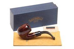 Savinelli Porto Cervo Smooth 614 Tobacco Pipe