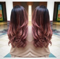 Hair color ideas for brunettes balayage rose gold dark brown 40 Ideas Hair color ideas for brunettes Cabelo Rose Gold, Pink Ombre Hair, Rose Gold Ombre, Brown Pink Ombre, Rose Gold Brown Hair, Rose Gold Hair Brunette, Dark Ombre, Pale Pink, Brown Hair Pink Tips