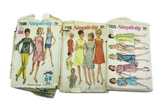 Fab 1960s Vintage Sewing Patterns from Margot Potter Live Handmade!
