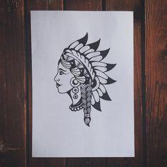 #tattoo #ink #girl #Indian