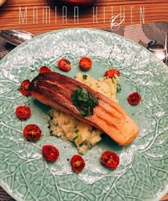 Wasabi Crispy Salmon #inspired by Gordon Ramsay Recipe