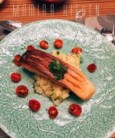 Wasabi Crispy Salmon #inspired by Gordon Ramsay Recipe