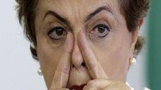-> A sessão da votação prévia do impeachment da presidente afastada, Dilma…