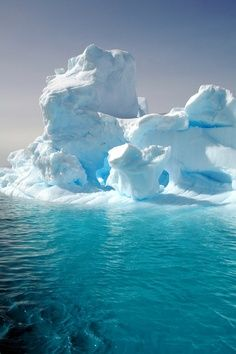 In icebergs, you see blues you have never, ever seen before.  Spectacular.