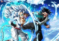 OCs : Chigo vs Atzuma UI by Maniaxoi on DeviantArt Gogeta E Vegito, Female Goku, Character Art, Character Design, Dbz Characters, Dragon Ball Gt, Comic, Fandom, Manga