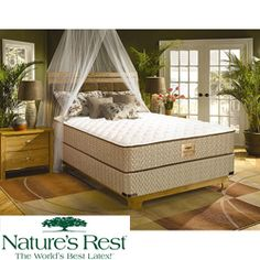 @Overstock - This Nature's Rest Tahoe firm mattress is constructed with natural latex foam rubber to provide ultra pressure relieving comfort and support. This mattress offers a patented 3-inch body curve topper and a 7-inch high-density plant-based support foam core.http://www.overstock.com/Home-Garden/Natures-Rest-by-Spring-Air-Tahoe-Firm-Zoned-Latex-Foam-Queen-size-Mattress-Set/5412198/product.html?CID=214117 $1,148.99