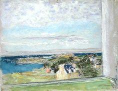 From my Window by Edouard  Vuillard (France)