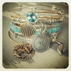 $28 The Block Island bangle is the newest member to the places we love! #Carefree #Tranquil #Natural