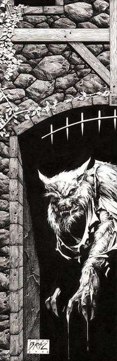 ☆ Werewolf.。Art By :→: Andy Brase ☆