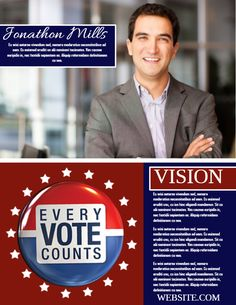 34 best election campaign poster templates images on pinterest in