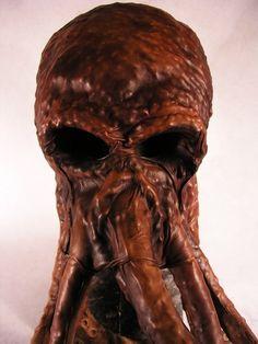 Bob Basset - Cthulhu mask, Octopus Mask. Dr Who creature!