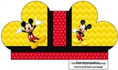 Caixa Sabonete Mickey: