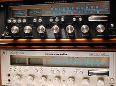 Marantz 2265B Black & Silver  (if you're following the vintage hi fi stuff, click through. Tons of vintage solid state.)