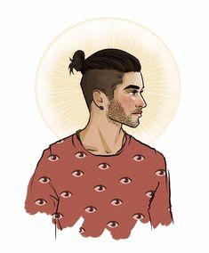 His hair :'(