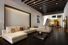 Ceiling Design With Exposed Beams   Just3Ds