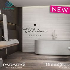 НОВИНКА В НАШЕМ САЛОНЕ !!! Коллекция «Minimal Stone» Польская фабрика: Ceramika Paradyz размер: 30x90 см Минимализм, Каталог