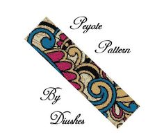 Peyote Bracelet Pattern Seed Bead Pattern Even Count Peyote