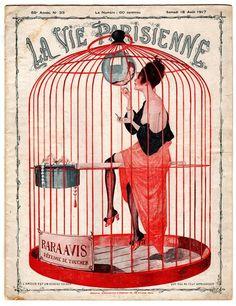 La Vie Parisienne 1917 ~ Georges Leonnec