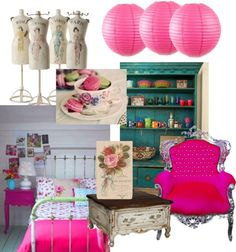 French? lol habby boho interior board, created by ladyfroufrou on Polyvore