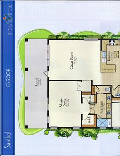 The Gulfshore Collection Sanibel Floor Plan in Solivita, Kissimmee FL