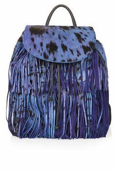 Premium Leopard Pony Backpack