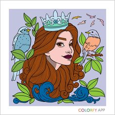 Get colorfy and you can colors these cool pics  Get COLORFY and u can color these AWSOME pics:-)