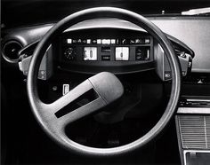 citroen cx dashboard my step dad had one when they first came out. Like the dash for a spaceship