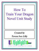 How to train your dragon lesson plans and literature unit study how to train your dragon novel unit study an ebook by teresa lilly at smashwords ccuart Choice Image