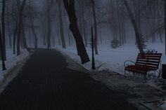 Dark Weather, Dark Paradise, Snowy Day, Dark Photography, Story Inspiration, Far Away, Mists, Beautiful Places, Scenery