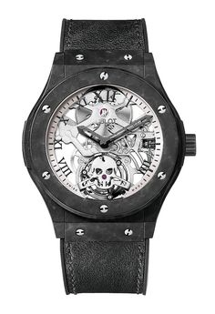 Hublot Classic Fusion Tourbillon Skull Watch