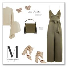 """Olive"" by bv-b ❤ liked on Polyvore featuring Zimmermann, Laurence Dacade, Delpozo and Christian Louboutin"