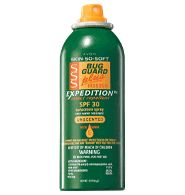SKIN SO SOFT Bug Guard Plus IR3535® Expedition™ SPF 30 Aerosol Spray - 2-in-1 protection! Repels mosquitoes that may transmit West Nile Virus for 8 hours. Provides effective protection against gnats, no-seeums, sand flies and biting midges. DEET-free, dermatologist-tested, hypoallergenic. Regularly $16.00, buy Skin So Soft online.