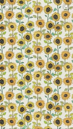 Sunflower wallpaper, sunflower pattern, pattern flower, cute backgrounds, p Cute Backgrounds, Cute Wallpapers, Wallpaper Backgrounds, Pattern Wallpaper Iphone, Artsy Wallpaper Iphone, Cute Patterns Wallpaper, Hipster Wallpaper, Halloween Backgrounds, Wallpaper Art