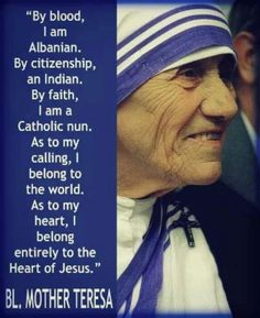 Blessed Teresa of Calcutta, pray for us!