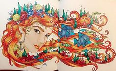 Daydreams by Hanna Karlzon Colouring book by PixelnSprites on DeviantArt
