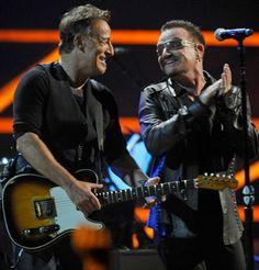 Bruce Springsteen & U2 ~ Bono