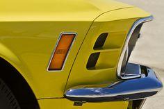 '69 Mustang Boss 302 - Yellow Car
