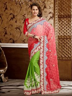 FREE COD at NaariStyle.com Call 7755912933 for more details. http://www.naaristyle.com/saree/wedding-sarees