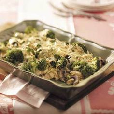 Broccoli Chicken Supreme  | MyRecipes.com
