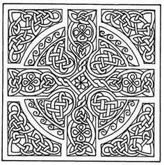Celtic Design Coloring Book Dover Ed Sibbett Jr